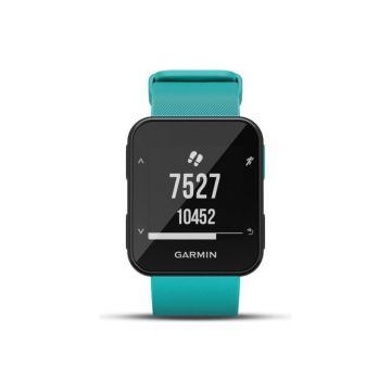 Garmin Forerunner 30 GPS Running Smart Watch - Turqoise