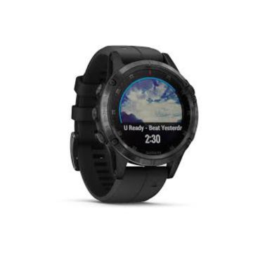 Garmin Fenix 5 Plus Sapphire Mulitsport GPS Smart Watch - Black/Black