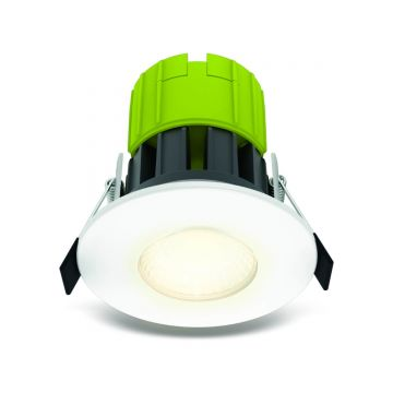 Luceco F Type, 6W, Warm White, Fire Rated Downlight