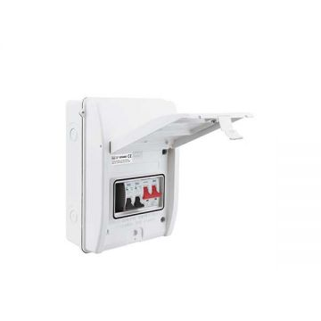 BG Metal Clad Garage Kit With 100A Switch, 6A & 16A MCB