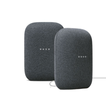 Google Nest Audio, Charcoal - TWIN PACK