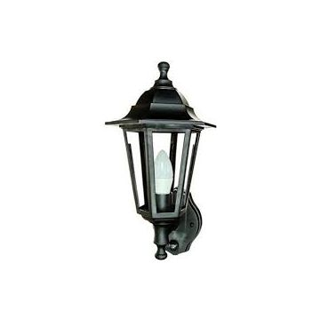Timeguard LED PIR Carriage Lantern, 4W, Black