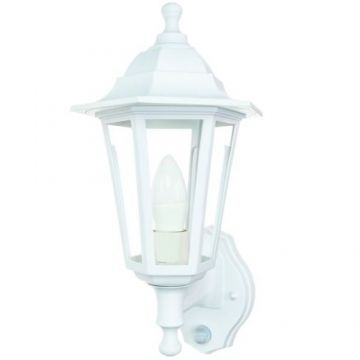 Timeguard LED PIR Carriage Lantern, 4W, White