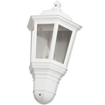 Timeguard LED Half Carriage Lantern, 4W, White