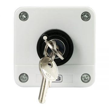 BG Industrial Start/Stop 2 Position Key Switch