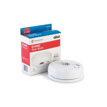Aico Heat Alarm - Mains Powered with Battery Back-up