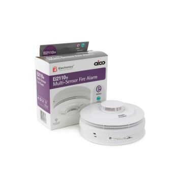 Aico Multi-Sensor Smoke & Heat Alarm - Mains Powered with Lithium Back-up (REPLACED BY EI3024)