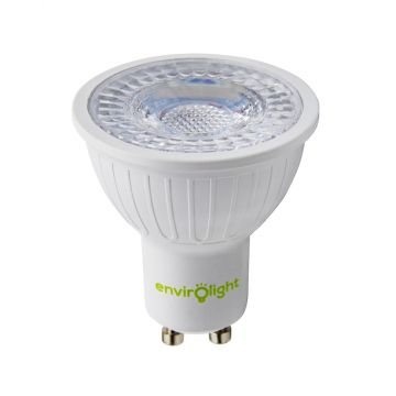 Envirolight LED 5W GU10 Dimmable Spotlight, 38° Beam, Warm White