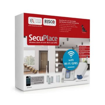 SecuPlace Wireless Alarm Kit With Wireless Connectivity & Built-in GSM