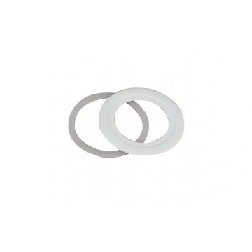 Integral LED Evofire IP65 Fire Rated Downlight Cut-Out Adaptor, Round, 70-100mm, Matt White