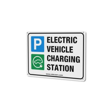 Rolec EVPS0020 A5 Electrical Vehicle Charging Station Sign