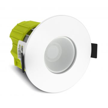 Luceco F Type, 6W, Cool White, Fire Rated Downlight