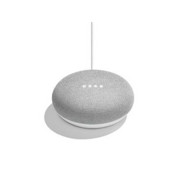 Google Nest Mini Smart Speaker (2nd Gen) - Chalk
