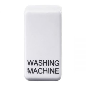 Nexus Grid Rocker, Printed 'Washing Machine', White