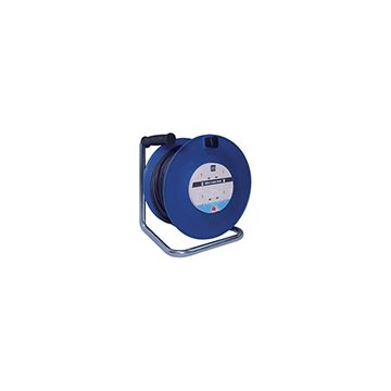 Heavy Duty Open Extension Reel, 4 Gang, 50m