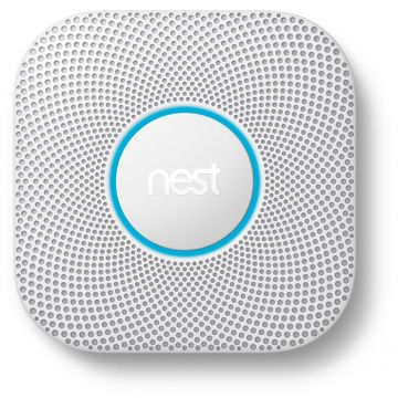 Google Nest® Protect 2nd Generation Smoke & Carbon Monoxide Alarm - WIRED VERSION