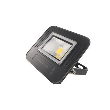 Integral LED Super-Slim 30W Non-dimmable Floodlight, IP67, Black