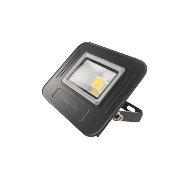 Integral LED Super-Slim 50W Non-dimmable Floodlight, IP67, Black