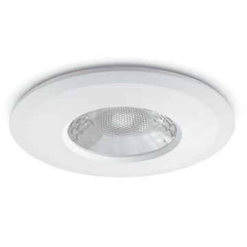 JCC V50 LED Fire Rated Downlight, Fixed Position, Wide Angled Beam, Tuneable White LED, White