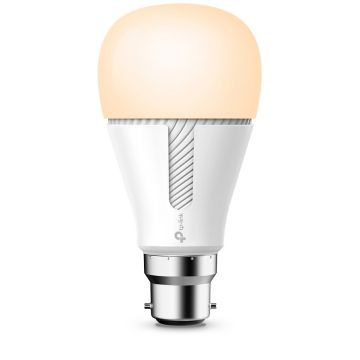 TP-Link Kasa LED Smart Wi-Fi GLS Bulb, Dimmable, 10W, B22, Warm White