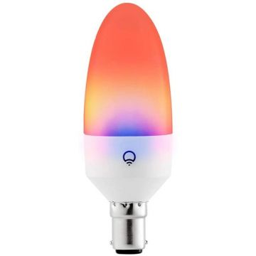 LIFX LED Smart B15 Candle, Tuneable, 5W, RGBSW Warm/Cool White