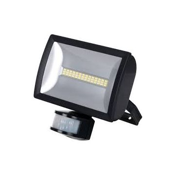 Timeguard LED Wide Angle PIR Floodlight, 20W, Black