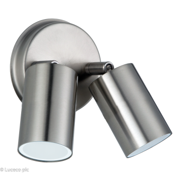 Luceco LED Wall Light, 8W, 500Lm
