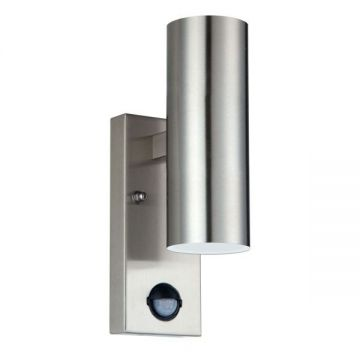 Luceco Fixed PIR LED Wall Light, 8W, 500Lm