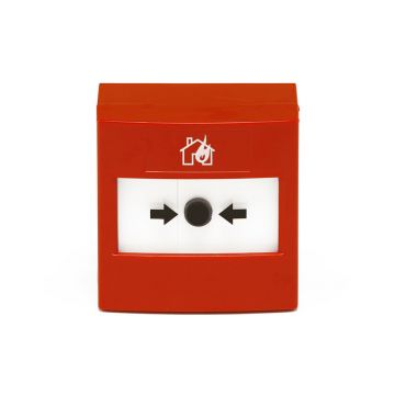 Aico Manual Call Point - Mains Powered with Battery Back-up