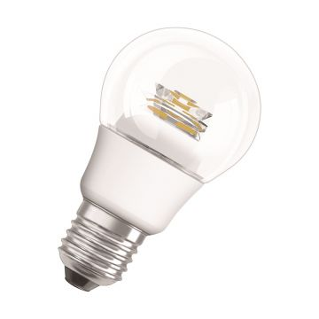 Osram Parathom Classic LED GLS Bulb, E27 6W Dimmable, Warm White, Clear