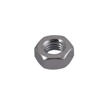 Unicrimp Hexagon Nuts, Zinc Plated, M6, Pack of 100