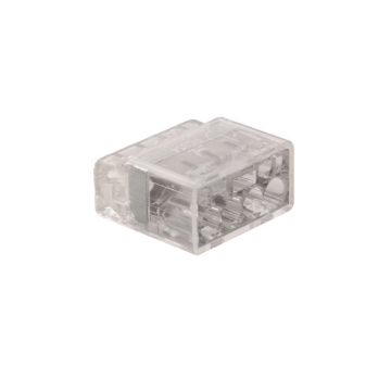 Unicrimp 4 Port Push in Connector, 24A, 450V, Transparent