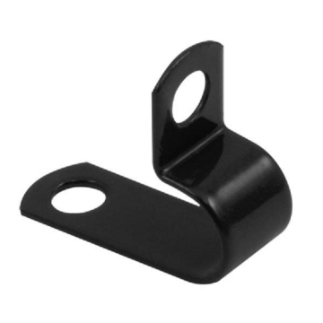 Unicrimp 37, Metal P Clip, 9.1-10mm, LSF, Black