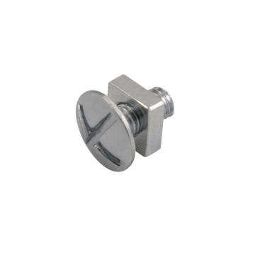 Unicrimp Roofing Bolt, Zinc Plated, M6 x 40mm, Pack of 100