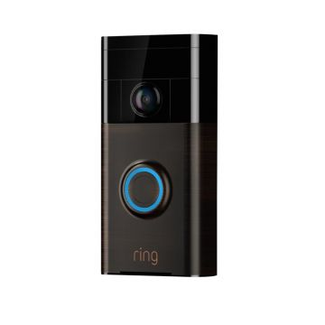 Ring Smart Video Doorbell, With Camera, Wi-Fi Enabled, Venetian Bronze - ( V2 Now Available)