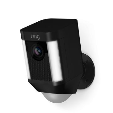 Ring Spotlight Cam - Battery, Black