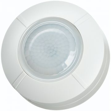 Timeguard 360° Surface Mount Ceiling PIR Detector, 2000W, White