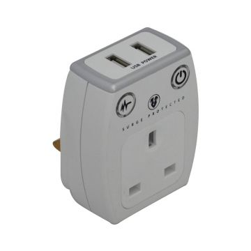 USB Charger With Surge Protection