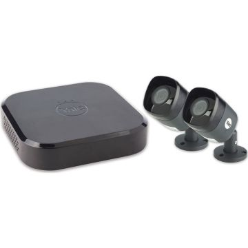 Yale Smart Home 2 Camera CCTV Kit, 1080p HD, 4 Channel