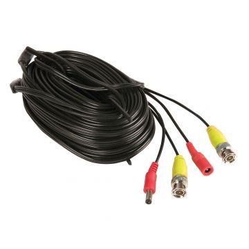 Yale CCTV BNC Camera Cable, 18m