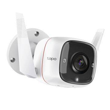 TP-Link Tapo Outdoor Home Security Wi-Fi Camera - White