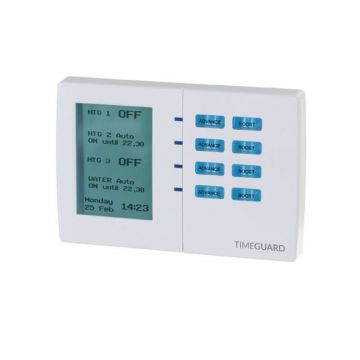 Timeguard 7 Day Digital Heating Programmer, 4 Channel