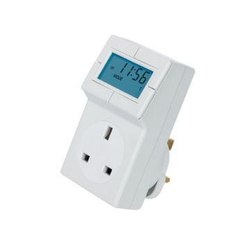 Timeguard Electronic Plug-in Thermostat with 24 Hour Time Control