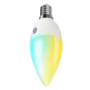 Hive Active LED Smart E14 Candle, Dimmable, Screw Fit, 6W, Cool to Warm White