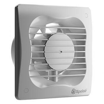 Xpelair 6 Inch Square Extractor Fan With Timer