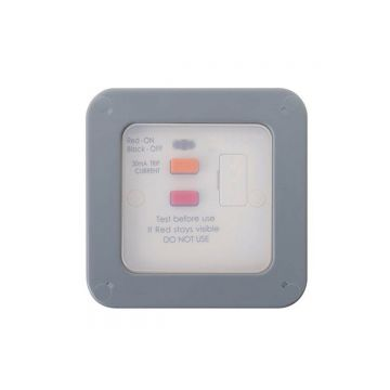 Nexus Storm Weatherproof Fused Connection Unit With RCD Protection, 13A