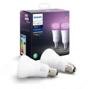 Philips Hue LED Smart Light Bulb, Tuneable, 9W, E27, RBG Warm/Cool White - PACK OF TWO
