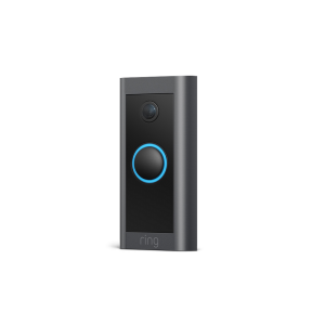 Ring Video Doorbell, Wired, Black