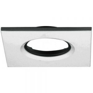 Aurora Bezel For M10 Fixed Fire Rated Downlights, Satin Nickel