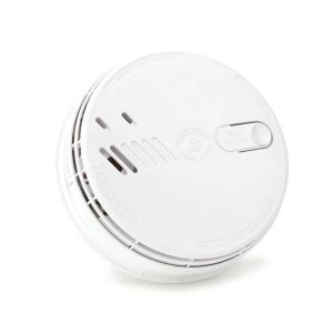 Aico EI141RC Ionisation Smoke Alarm 10-Year Life, Wired with 9V Battery Back-up